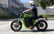 GigaOM TV rides Brammo's Electric Motorcycle!