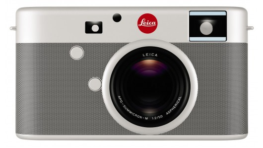 Jony Ive and Marc Newson created the one-of-a-kind Leica digital camera which will be sold...